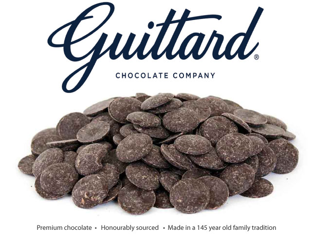 bulk chocolate by Guittard